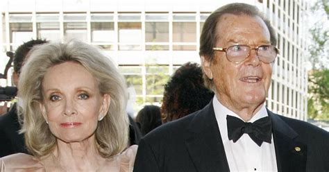 Roger Moore 'moved in' with stepdaughter during her final