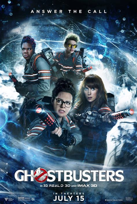 Ghostbusters (2016) Poster #1 - Trailer Addict