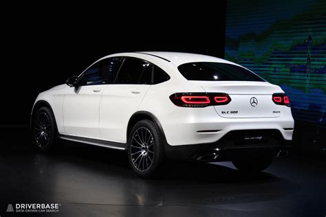 2020 Mercedes-Benz GLC 300 Coupe at the 2019 New York Auto