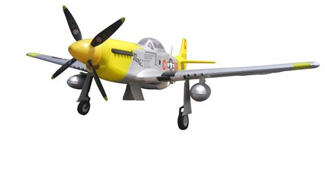P-51 Mustang Marie 1400mm/57'' EPO Electric RC Airplane
