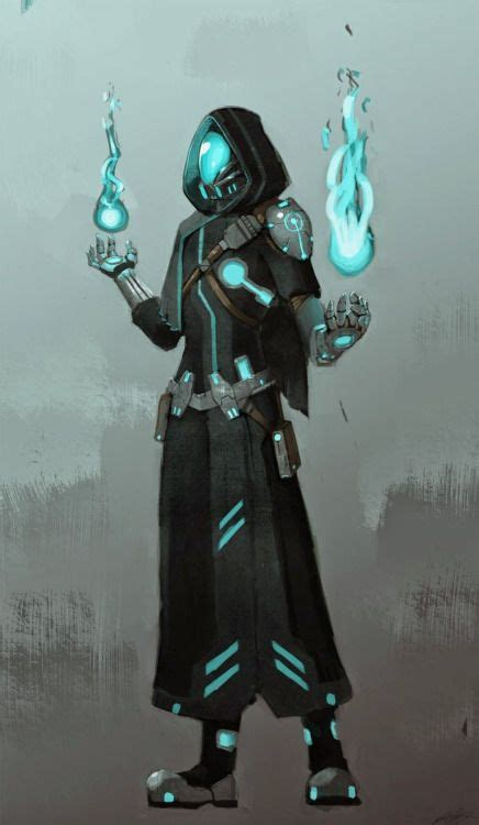 Image result for sci fi mage   Character art, Cyberpunk