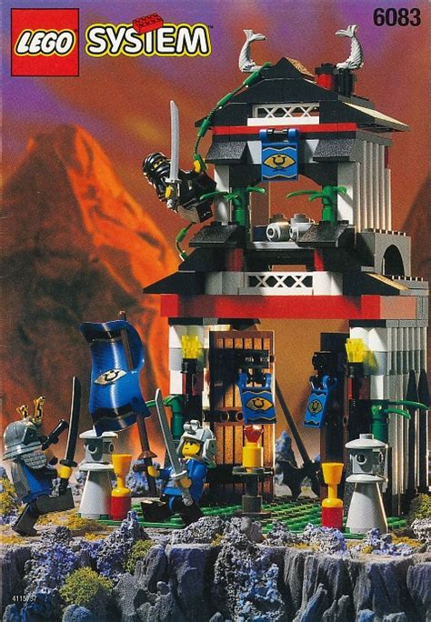 Bricker - Construction Toy by LEGO 6083-2 Samurai Stronghold