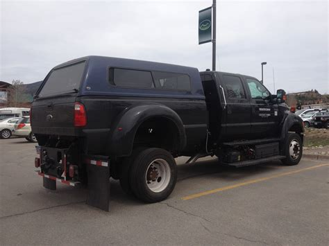 Is this 2016 Ford F-650 Prototype Diesel and CNG? [Spied
