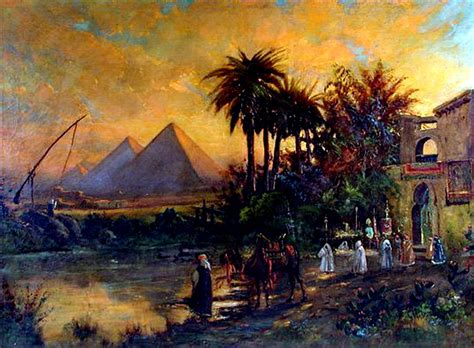 Paintings - Ancient Egyptian Connections