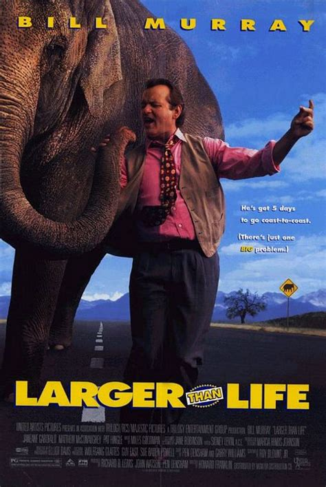 Larger Than Life Movie Poster (#2 of 3) - IMP Awards