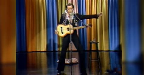 Andy Kaufman came onstage to impersonate Elvis Presley