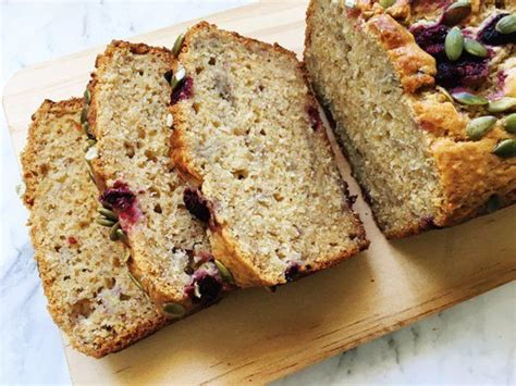 Banana raspberry and coconut loaf | Coconut loaf recipes