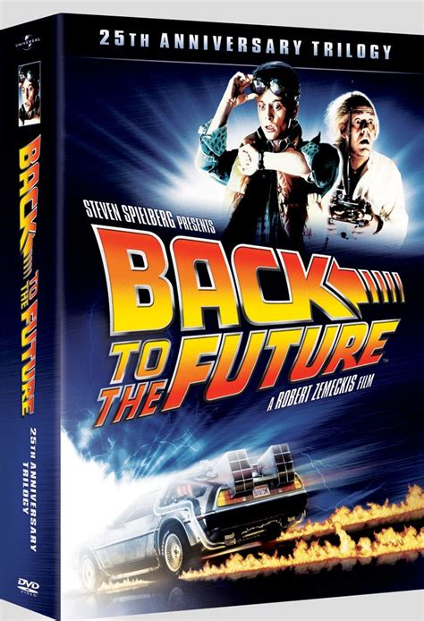 Newly Restored Back To The Future 25th Anniversary Trilogy