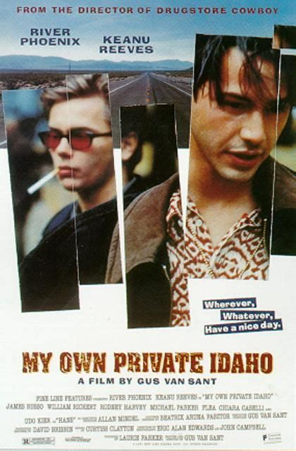 My Own Private Idaho Movie Poster (#1 of 3) - IMP Awards
