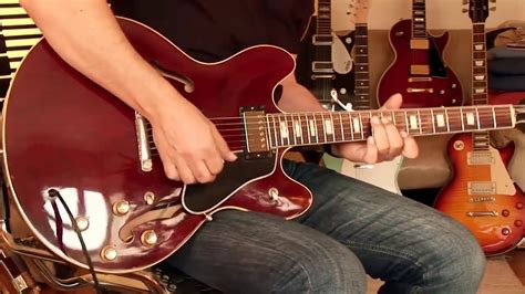 1977 Gibson ES-335, wine red, Part1 - YouTube