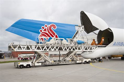 Airbus introduced a massive new cargo plane that looks