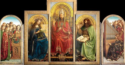 A Master Work, the Ghent Altarpiece, Reawakens Stroke by