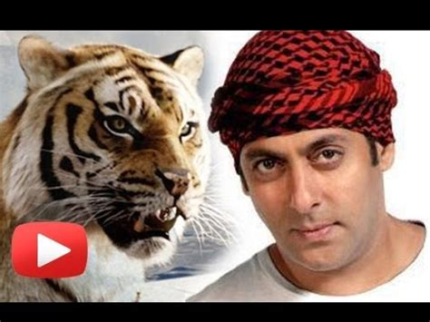 Salman Khan's Film Sher Khan To Have A Special Tiger?[HD