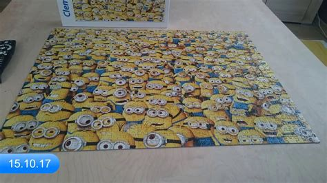 Puzzle Clementoni Impossible The Minions 1000 - YouTube
